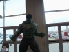 The Hulk greets visitors to the 2010 Comicon in Kansas City