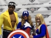 Power Man, Captain America, and Supergirl