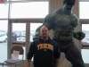 Nate,on the left, and The Hulk