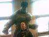 Adam with the Hulk